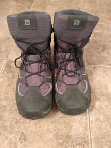 chaussure salomon en hiver