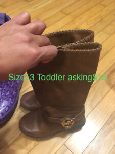 MK Toddlers boot Size 13