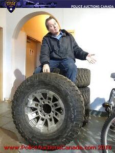 Set of 4 Mickey Thompson Baha MTZ Radial Tires