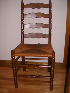 Ladder Back/Cane Seat Side Chair