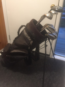 Men's left hand  Golf Cubs, Spalding Executives w/ Bag & extras!