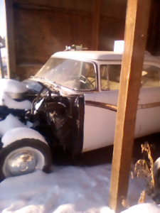 1956 ford farline   80% done.  95% parts