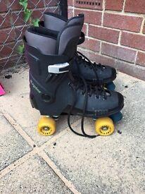 Raptor roller skates