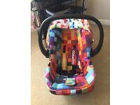 Cosatto Hold Car Seat In Pixelate
