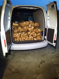 Dried logs, firewood, 15kg bags, can deliver, good burning soft wood