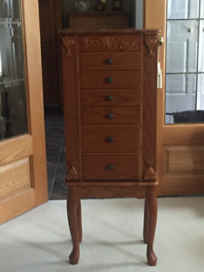 Lovely Jewellery Cabinet/Armoire.