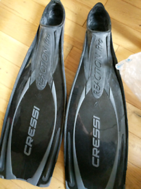 Diving fins/flippers size 8/9