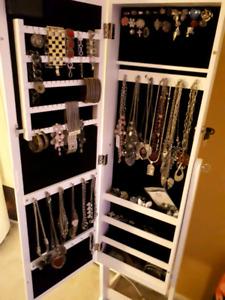 Beautiful jewelry armoire