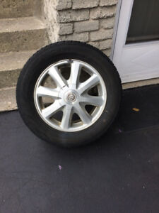 FOR SALE: Four, 16inch Winter Tires on Rims from Buick Lesabre