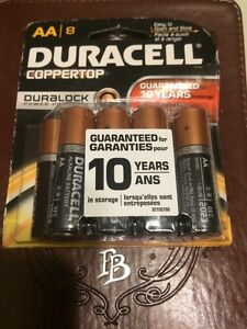 DURACELL AA Batteries - 8 Pack - Brand New