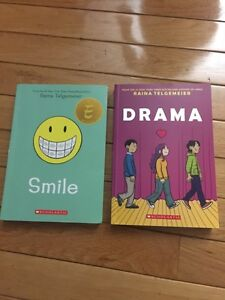 Scholastic- two graphic novels by Raina Telgemeler.