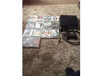 PS3 with 14 games controller and headset