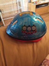 Thomas tank kids bike helmet