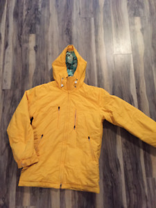 RBA Mens Snowboard Jacket Large