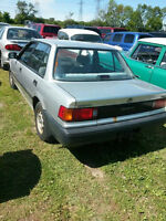 1988 Honda Civic DX Sedan SCRAP
