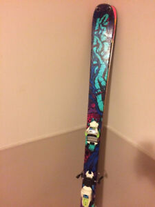 Skis K2 Revival (avec Fix Marker Squire) (twin tips)