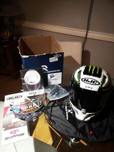CASQUE HJC EDITION SPECIAL MONSTER ENERGY