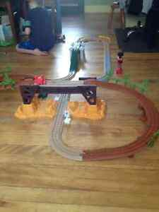 GeoTrax Train Set - 2 complete sets and accessories