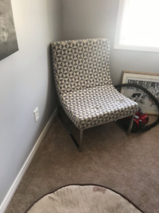 Modern Patterned Chair