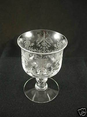 Etch Crystal (Heisey ORCHID ETCH Crystal 4-oz. OYSTER COCKTAIL Glass)