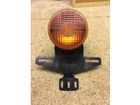 Ducati motorbike rear light and number plate holder