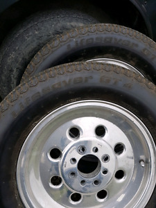 Weld skinny 4bolt with tires