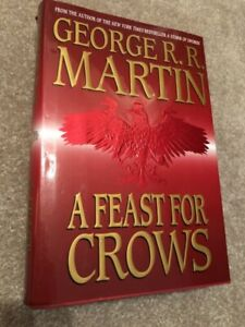 Game of Thrones A Feast For Crows hardcover FIRST EDITION?