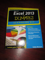 EXCEL 2013 For Dummies ONLINE ACCESS New NEVER USED