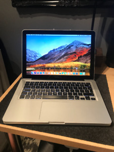2012 Macbook Pro 13in, Upgraded 8gb Ram, Brand New Battery!