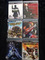6 PS3 Games for $30