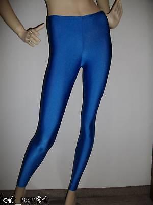 Leggings Glanzleggings Voltigierhosen Kinder royalblau verschiedene Größen ()