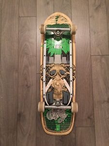 Pool / cruiser Bamboo skateboard