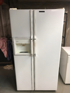 GE Profile - Side by Side Refrigerator