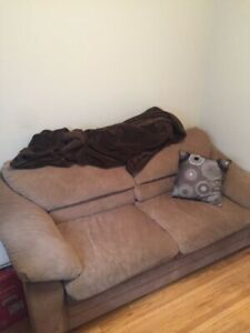 Couch- (pull out mattress built in)