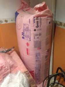 NEW, UNOPENED PINK FIBERGLASS INSULATION for sale!