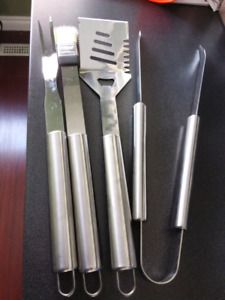 BBQ Tool Set Stainless Steel