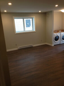 2 Bedroom legal basement suite available on the east side NOW!