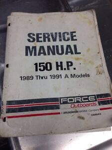 Force 150 service manual