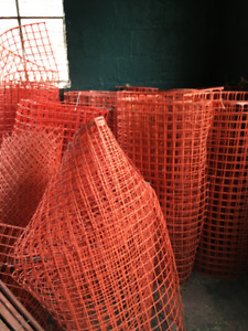 orange fencing