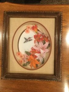 Decoupage Picture In Frame