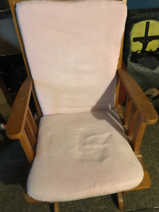 Glider Rocker Chair Needs new home