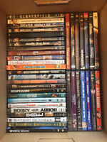 Collection of 60 DVDs