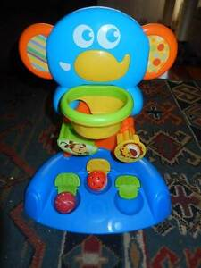 Blue Elephant Toy with 2 x Balls. Thornlie Gosnells Area Preview
