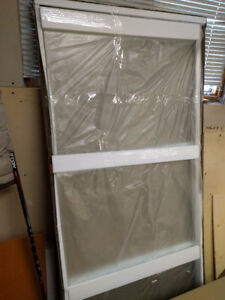 """33.5 x 78"""" tempered glass"""