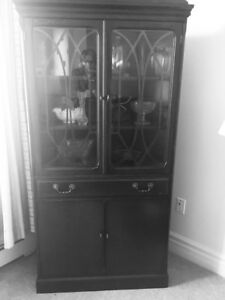 China cabinets, curio cabinet $150.00 each