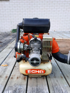 Echo gas powered backpack leaf blower Reduced price $100