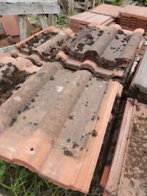 Reclaimed Redland 50 double Roman roof tiles
