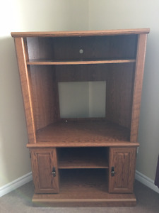 Corner TV Stand Armoire style
