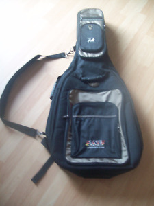 Deluxe Axe Profile Padded Guitar Soft Case Gig Bag