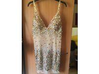 Rhinestone dress size 14